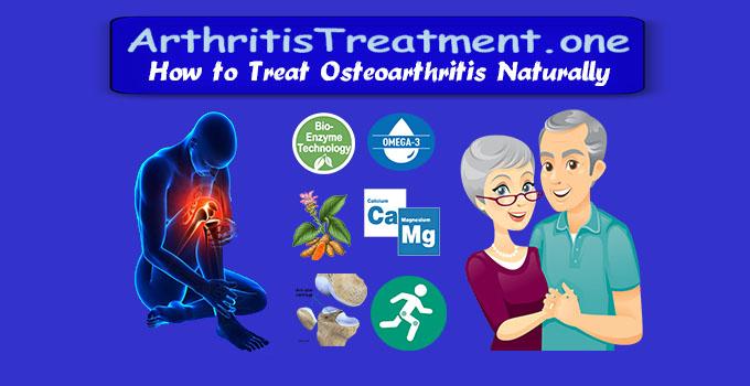 Natural Osteoarthritis Treatment